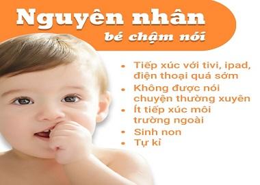 Trẻ chậm nói - 10 dấu hiệu nguy cơ